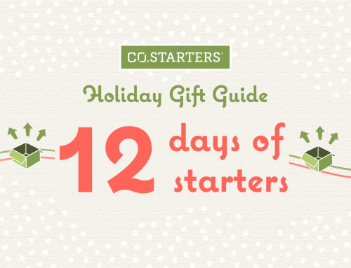 Give Big, Shop Small with 12 Days of Starters