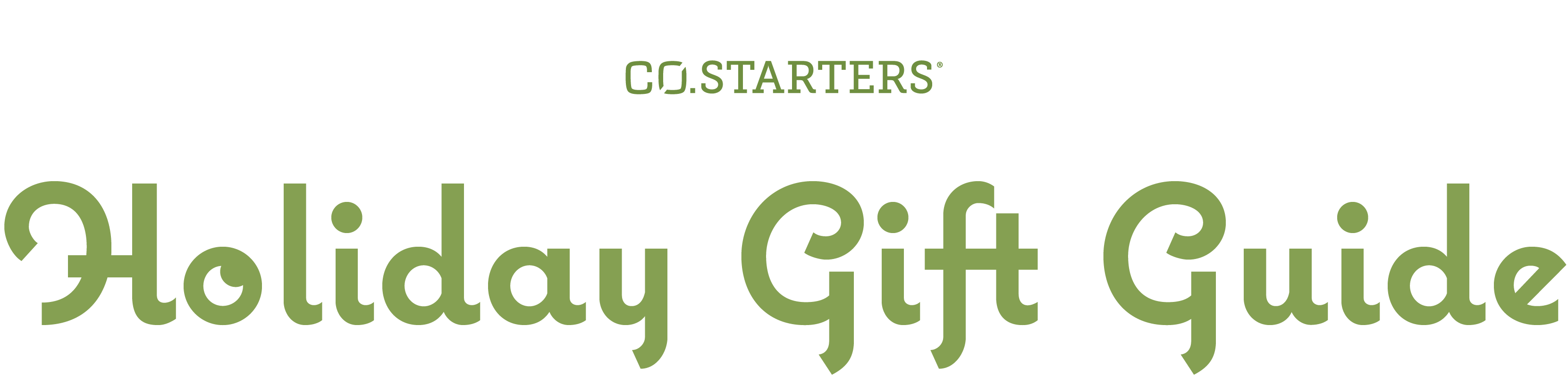 CO.STARTERS Holiday Gift Guide