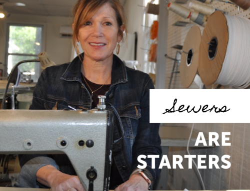 Starter Story: Christine McLean // The Red Pincushion